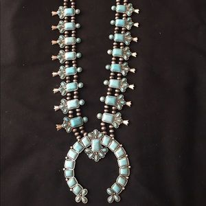 Jewelry - Squash Blossom Necklace and Earring Set